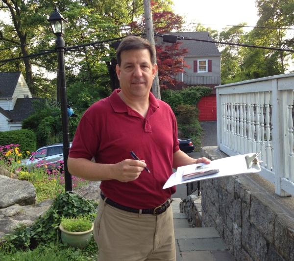 Jim Petitioning!