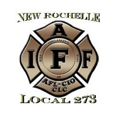 New Rochelle Firefighter Union Logo