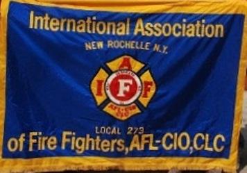 New Rochelle Firefighter Banner